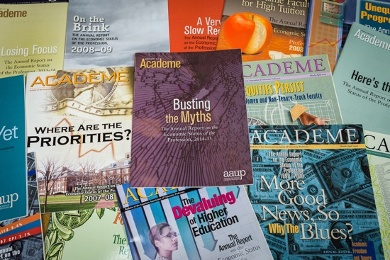 Issues of Academe.
